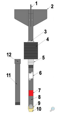 Piston sediment corer