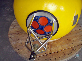 WH buoy frame manufactured by MSI